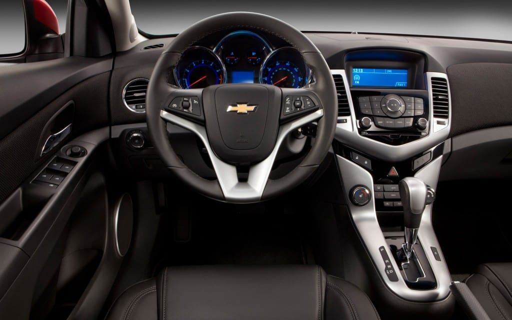 2013 Chevrolet Cruze RS Interior
