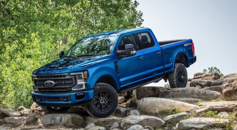 Why Tech-Savvy Shoppers Embrace the 2022 Ford Super Duty